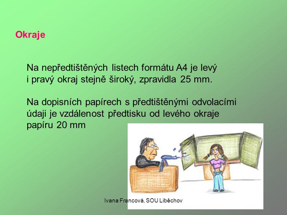 Zvýrazňování textu Důležité části textu lze zvýraznit: umístěním na samostatný řádek změnou řezu písma (tučný tisk, kurzíva) podtržením změnou velikosti písma změnou druhu (fontu) písma psaním verzálkami (velkými písmeny) vložením do uvozovek proložením Různé způsoby zvýraznění je možno kombinovat.