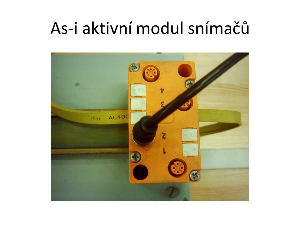 As-i aktivní modul snímačů