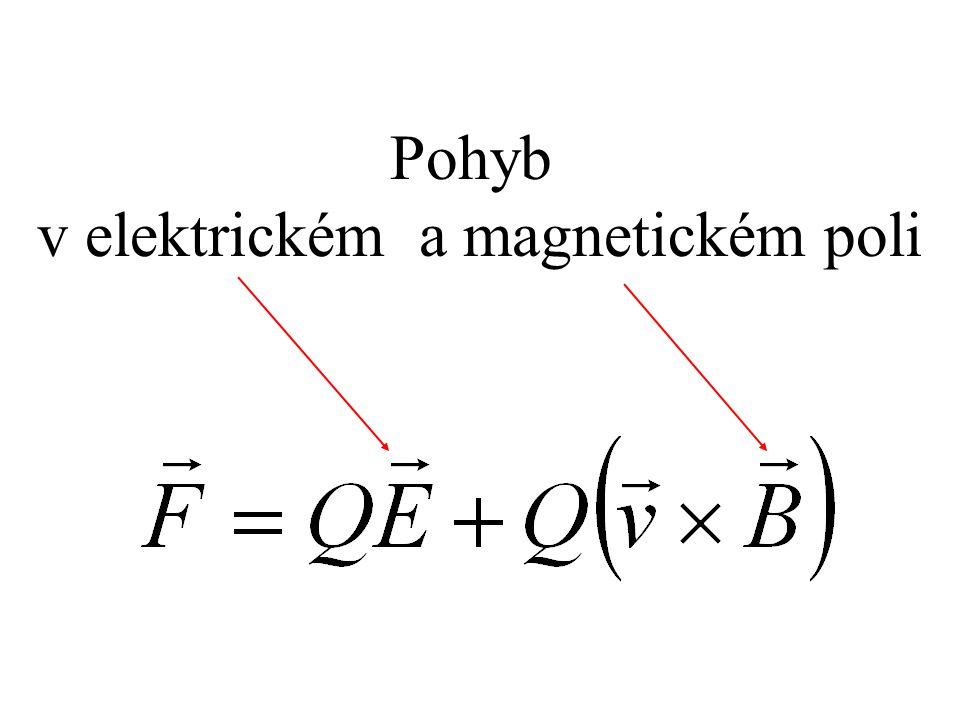 Pohyb v elektrickém a magnetickém poli