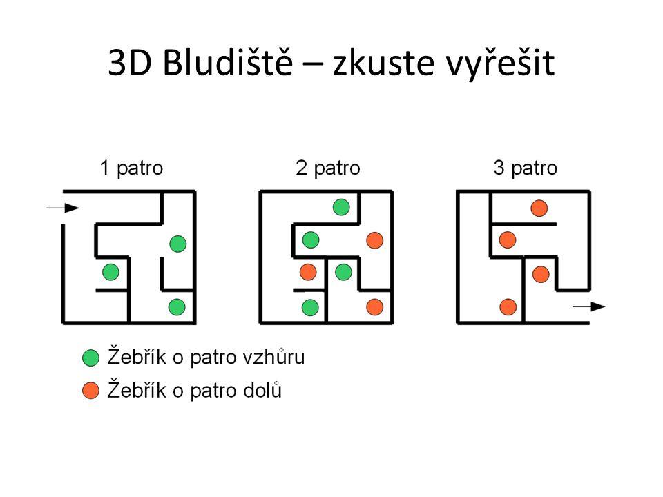 3D Bludiště – zkuste vyřešit