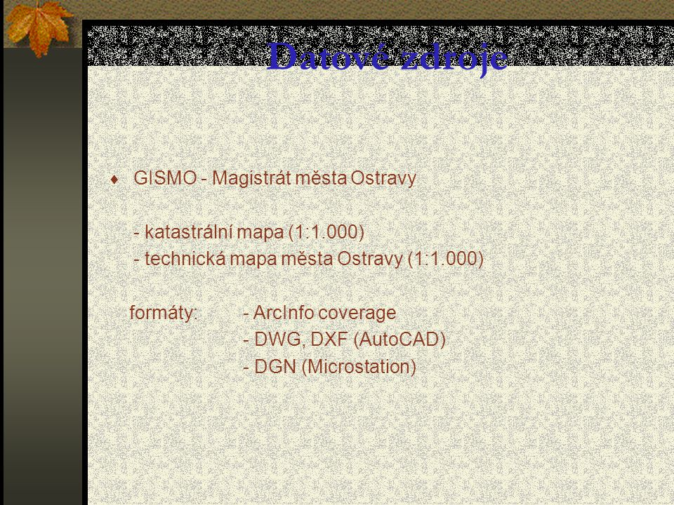  Převod DWG  SHP (shapefile),