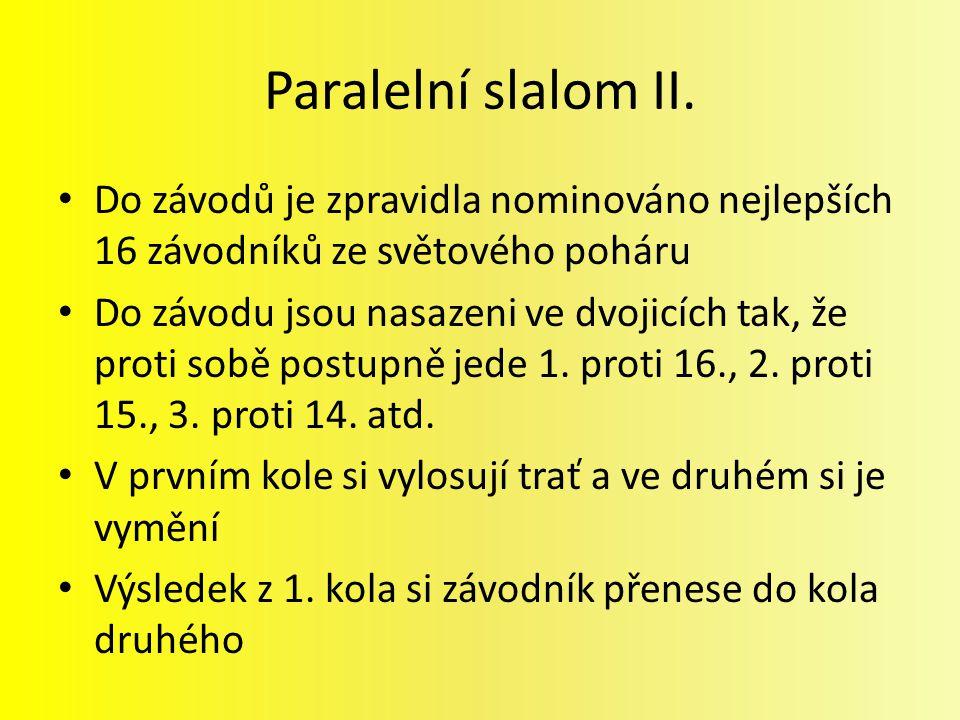 Paralelní slalom II.