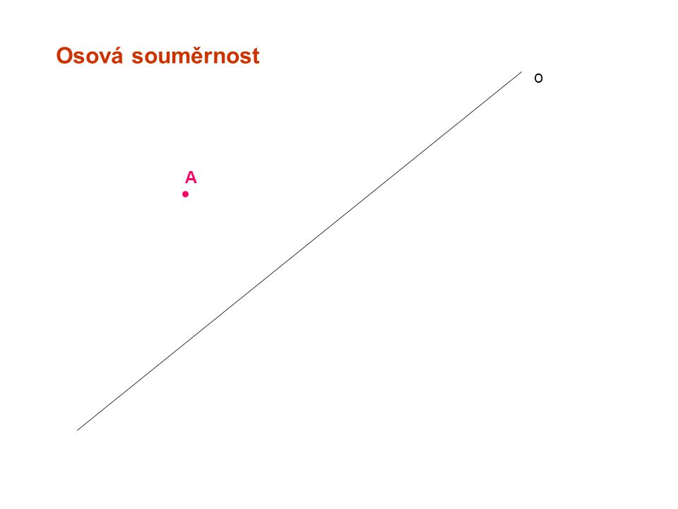 Středová souměrnost A B´ B A´ S=S´