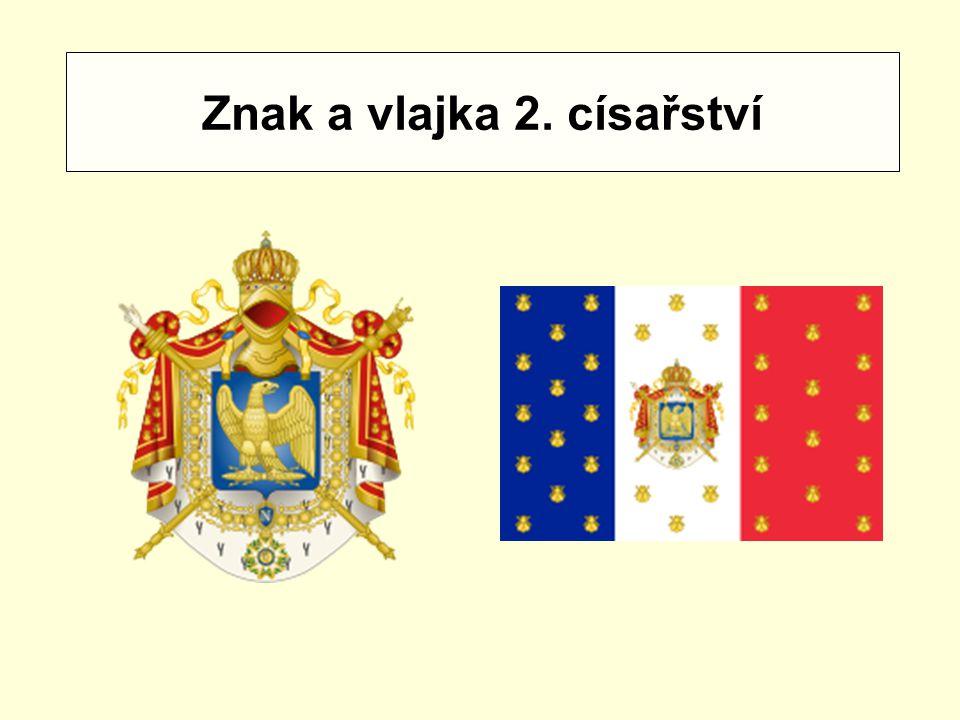 Znak a vlajka 2. císařství