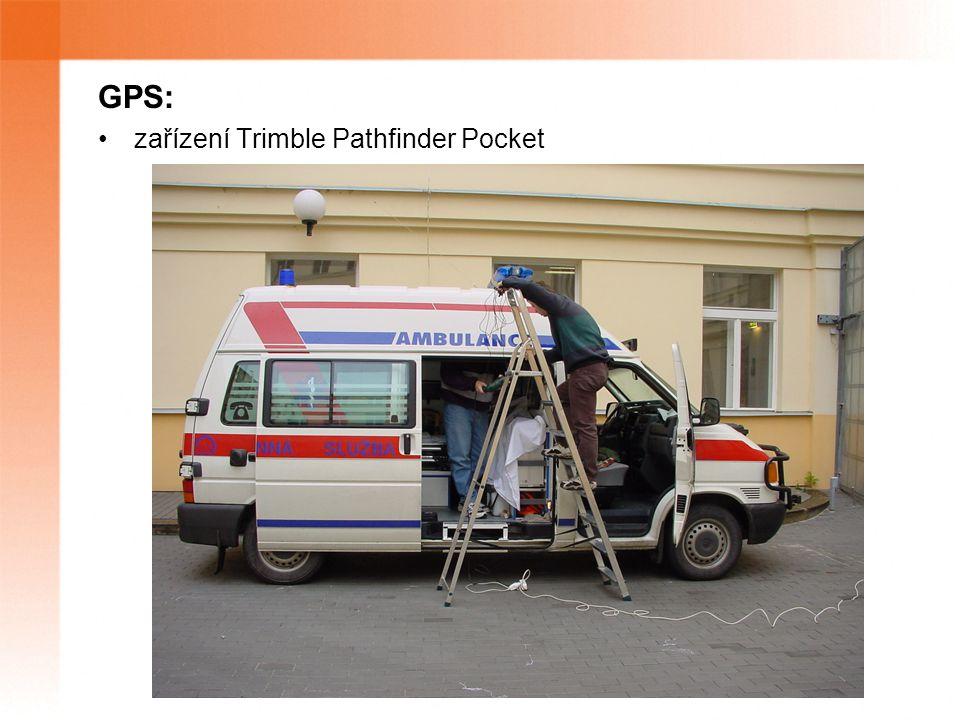 GPS: zařízení Trimble Pathfinder Pocket