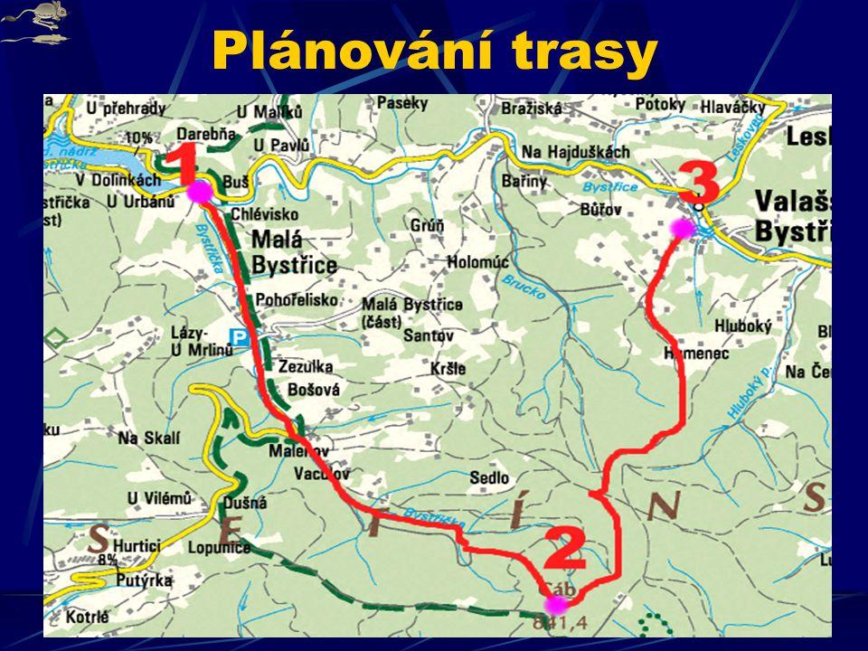 Plánování trasy