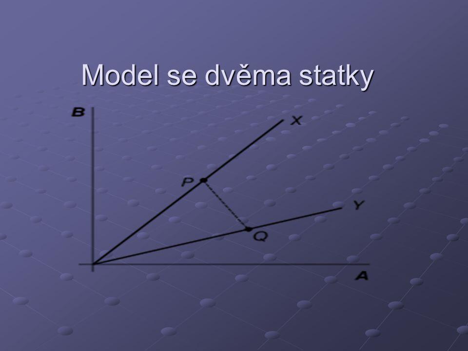 Model se dvěma statky