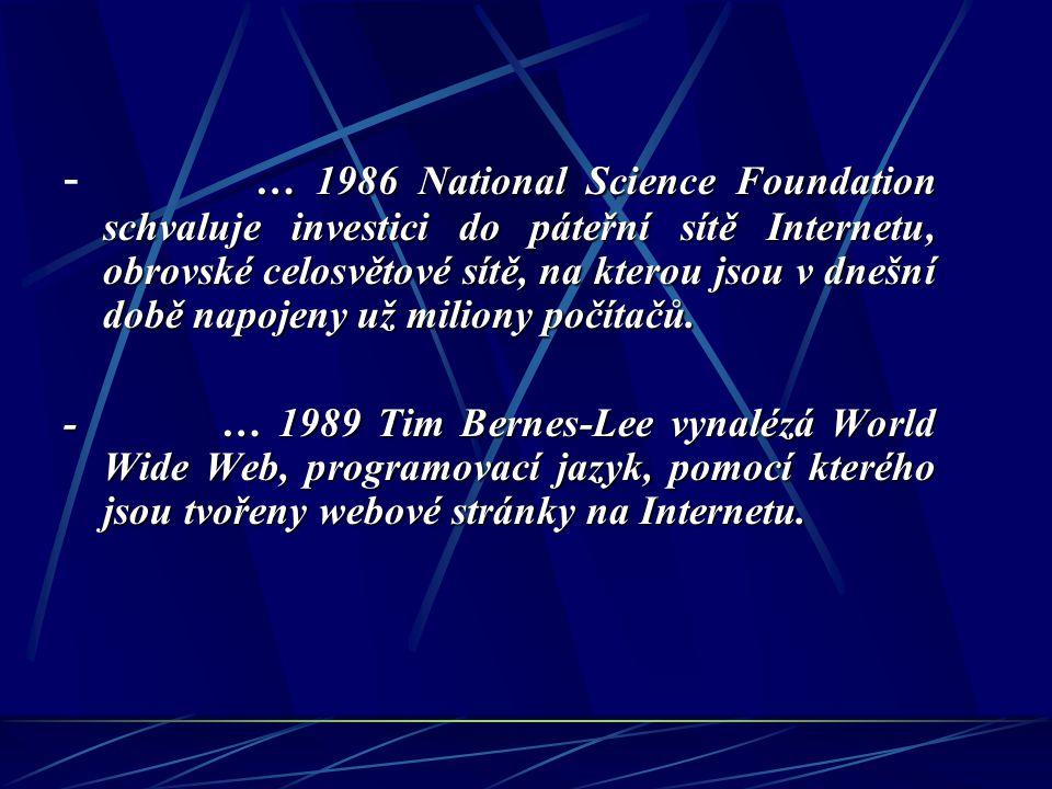 - 1983 se začíná používat disketa, která úspěšně nahradila dříve používanou magnetickou pásku.