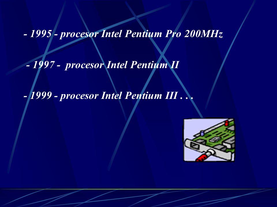 - 1991 - procesor Intel 486 - 1992 - dvourychlostní CD-ROM mechanika - 1993 - třírychlostní CD-ROM mechanika ( pro srovnání: v dnešní době jsou běžné mechaniky čtyřicetirychlostní)