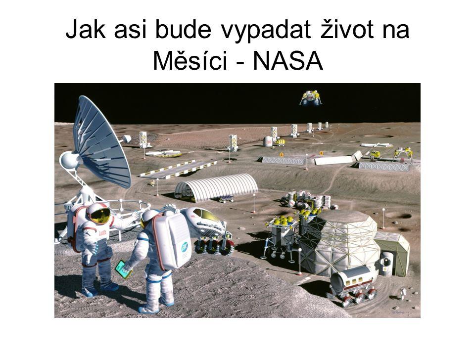 Jak asi bude vypadat život na Měsíci - NASA