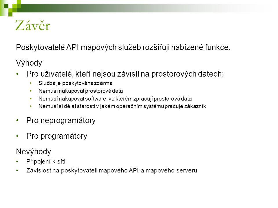 Poskytovatelé API mapových služeb rozšiřuji nabízené funkce.
