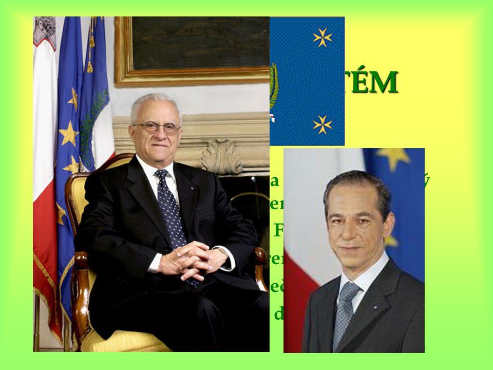 POLITICKÝ SYSTÉM  parlamentní republika (jednokomorový parlament)  prezident Edward Fenech Adami  předseda Lawrence Gonzi  člen Britského společen