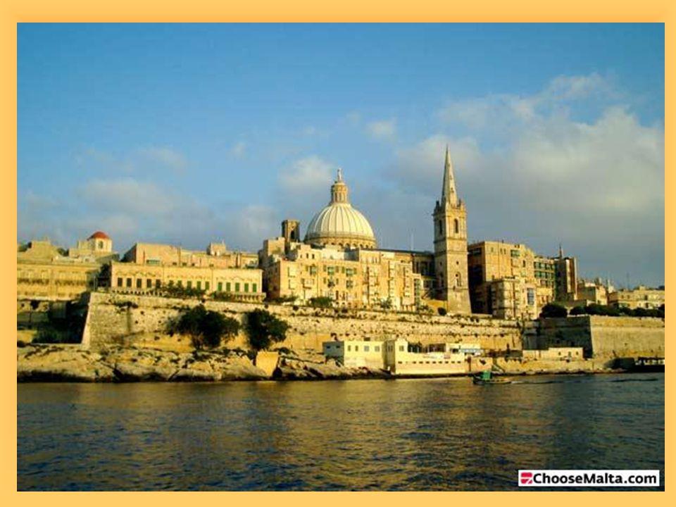 MĚSTA  aglomerace Valletty- poloostrov ve tvaru prstu  historická pevnost (UNESCO)