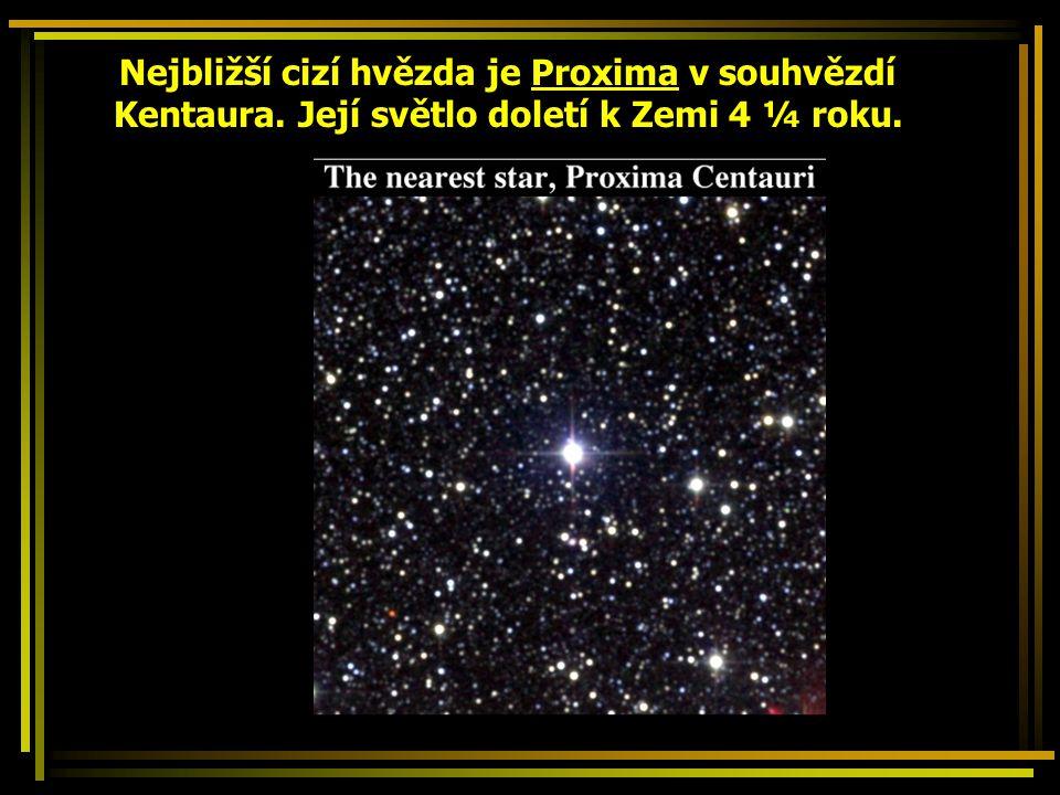 Souhvězdí Skupiny hvězd, které spojila lidská představivost.