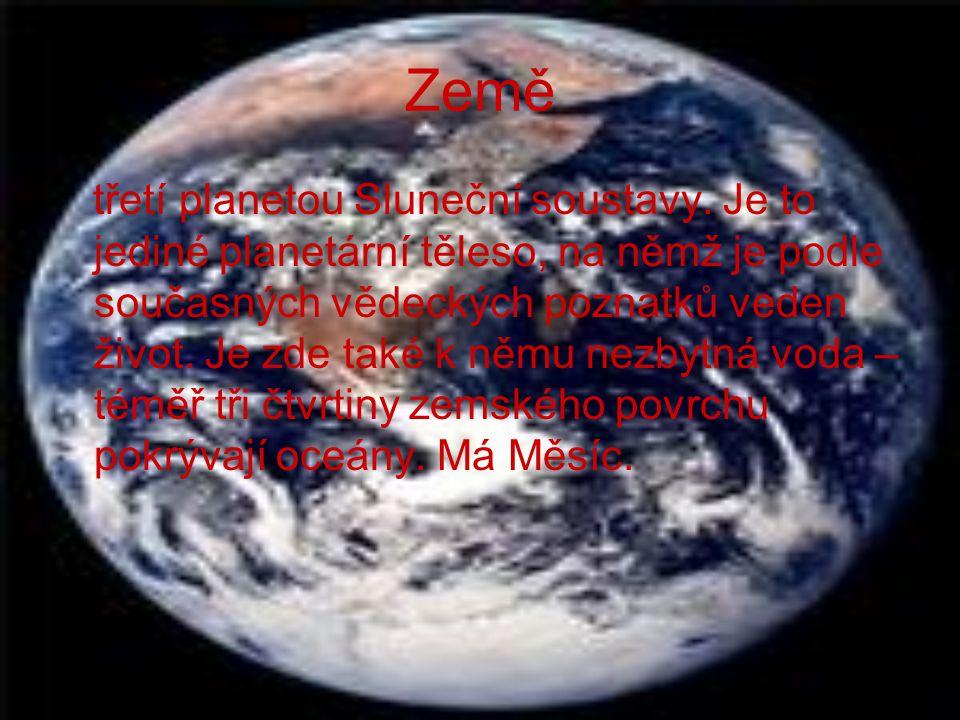 Venuše druhá nejbližší planeta ke Slunci. Je také nejbližší Zemi. Na svém povrchu má dvě vrchoviny, mezi kterými se nachází spousta širokých prohlubní