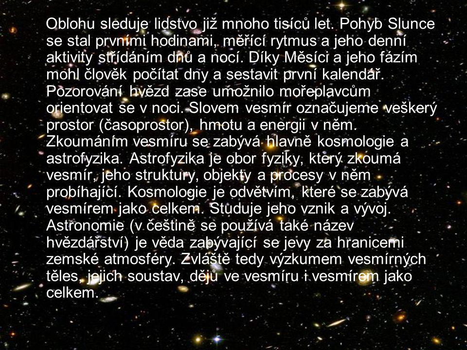 Vesmír Jana Střechová