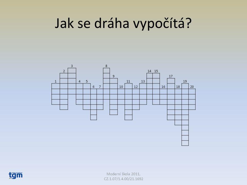 Legenda ke křížovce 1.matematické znázornění pohybu 2.byl v klidu nebo jinak by………….