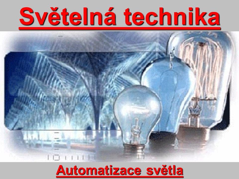 Úvod Ve světle a světelné technice se stále více prosazuje automatizované řízení osvětlení.