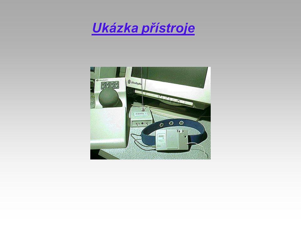 Ukázka přístroje