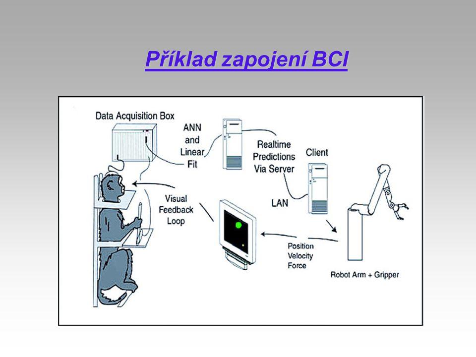 Příklad zapojení BCI