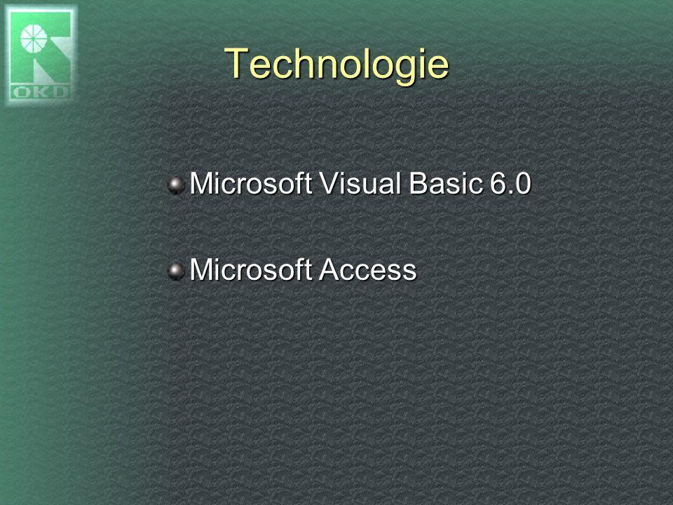 Technologie Microsoft Visual Basic 6.0 Microsoft Access