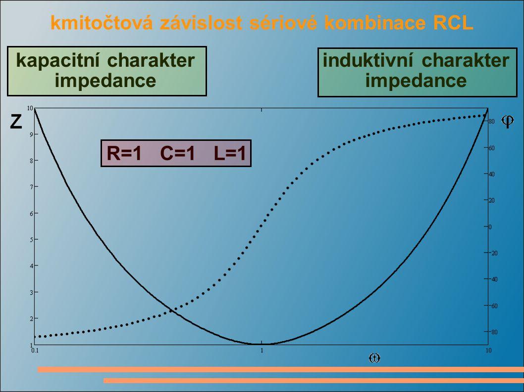 Thomsonův vztah výraz pro výpočet rezonančního kmitočtu hodnota rezistoru nemá na rezonanční kmitočet obvodu vliv, ale má vliv na typ přechodného děje v obvodě činitel jakosti sériového rezonančního obvodu definujeme jako