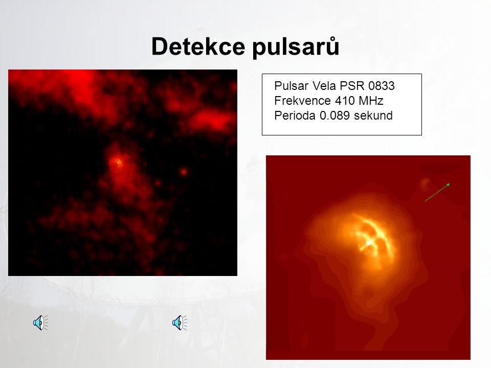 Detekce pulsarů