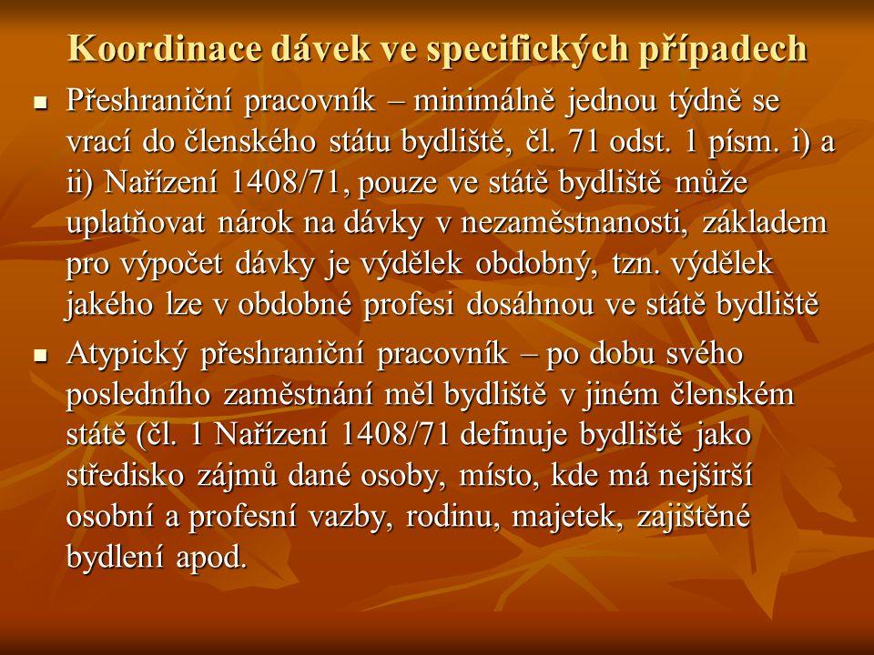 Výše podpory v ČR v roce 2009 Maximální výše podpory v nezaměstnanosti činí 13.307,- Kč, což je 56,5 % z průměrné mzdy za rok 2008 (která činila 23.542,- Kč).
