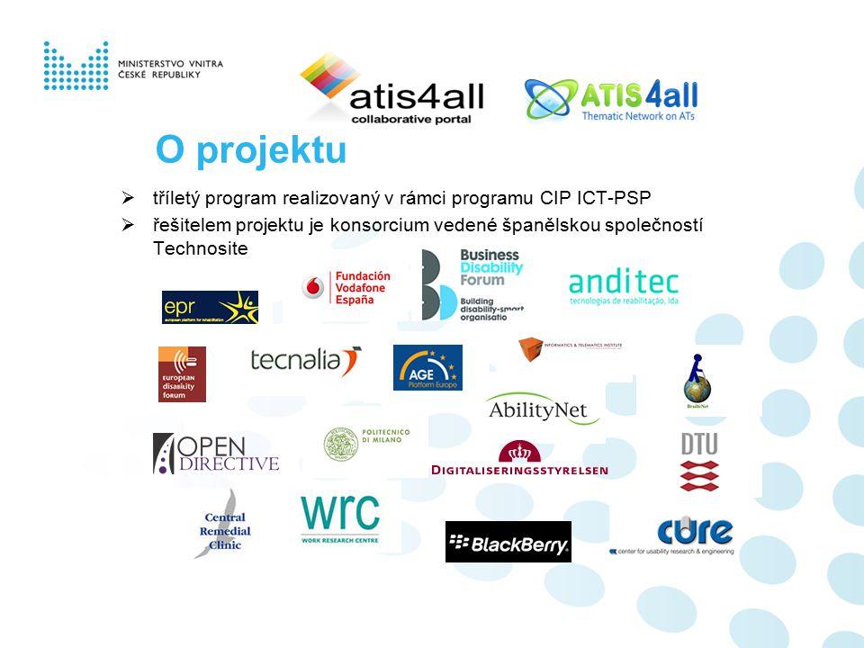 O projektu  tříletý program realizovaný v rámci programu CIP ICT-PSP  řešitelem projektu je konsorcium vedené španělskou společností Technosite