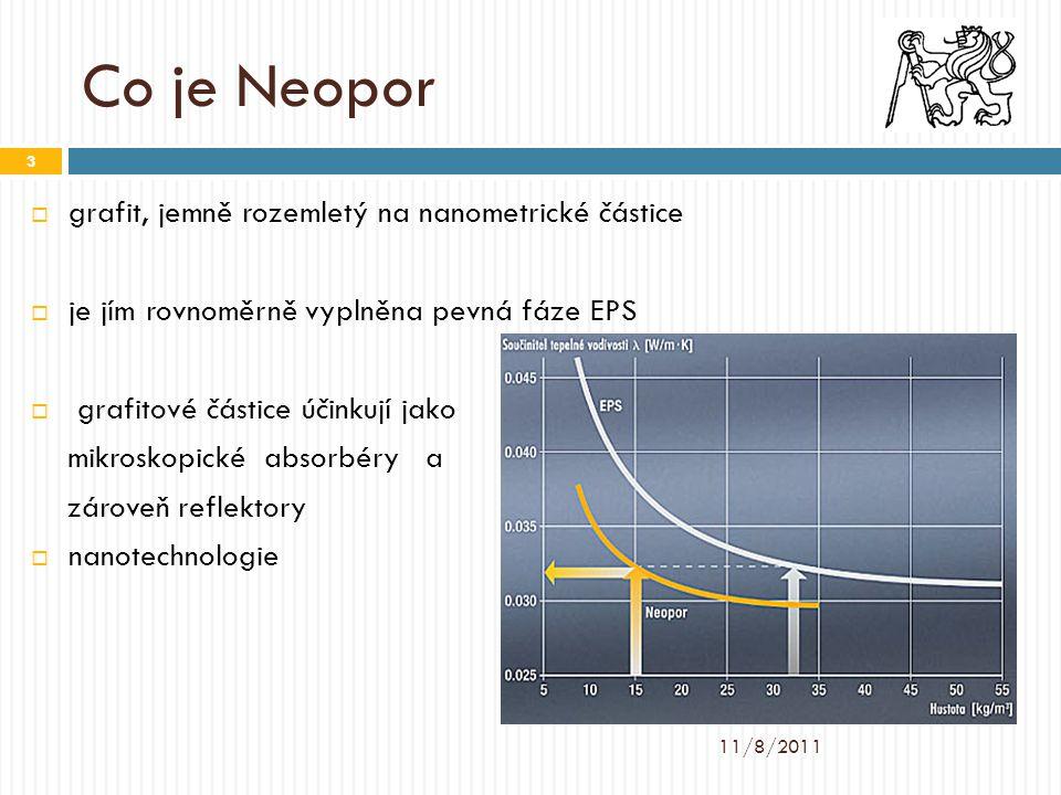 Co je Neopor  grafit, jemně rozemletý na nanometrické částice  je jím rovnoměrně vyplněna pevná fáze EPS  grafitové částice účinkují jako mikroskop