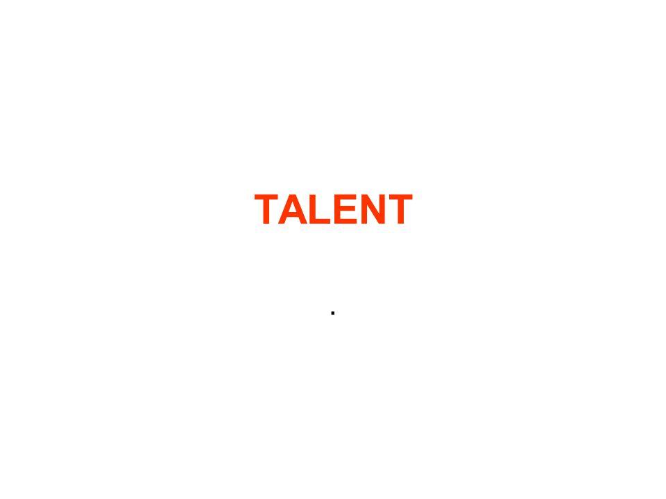 Definice Talent - množina prvků, kde se v určitém individuálním poměru vytvoří optimální vztah fyzických a psychických předpokladů.