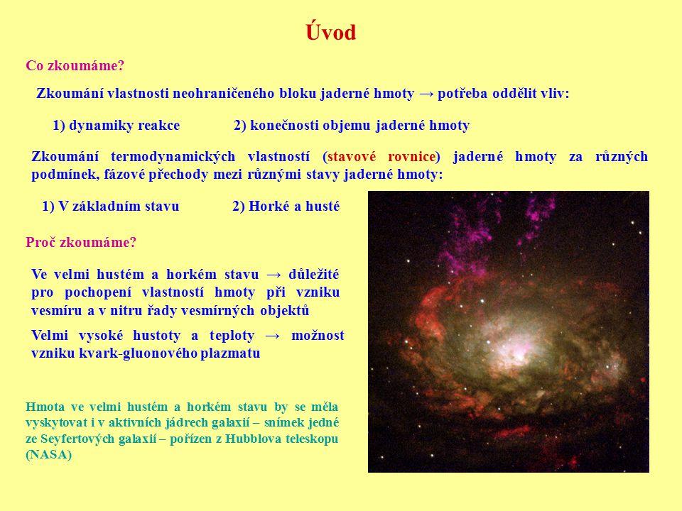 """Tvorba výtrysků (""""jetů ) – zviditelnění kvarků Případ vzniku čtyř výtrysků pozorovaný experimentem OPAL na urychlovači LEP (Hledání Higgsovy částice) Vzniklý výtrysk hadronů má směr a nese celkovou energii původního kvarku Srážka kvarků s velmi vysokou energií → vznik dvojice směrovaných proudů částic interagujících silnou interakcí - výtrysků Kvark s vysokou energií tvoří velké množství kvark antikvarkových párů ty následně hadronizují"""