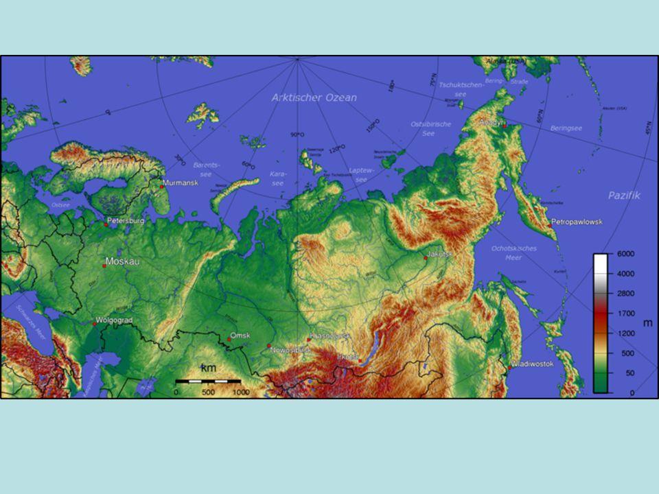 Rusko – státní zřízení a přírodní poměry- největší stát na Zemi Moskva – hl.