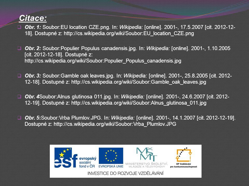 Citace:  Obr. 1: Soubor:EU location CZE.png. In: Wikipedia: [online]. 2001-, 17.5.2007 [cit. 2012-12- 18]. Dostupné z: http://cs.wikipedia.org/wiki/S
