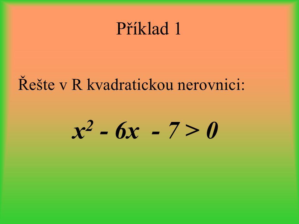 1.Upravíme na podílový tvar 2. Řešíme kvadratickou nerovnici způsobem popsaným v kapitole 1