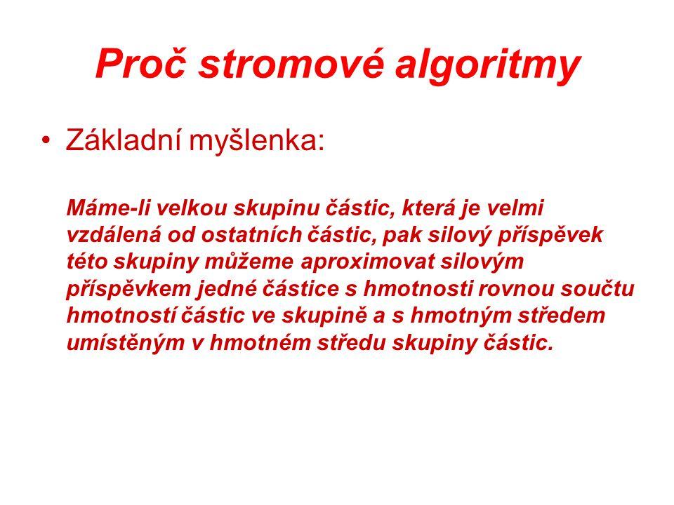Odkazy http://ocw.mit.edu/NR/rdonlyres/Mathematics/18-337JSpring- 2005/7F272796-9A83-44EF-AF25-0366CA296EA4/0/chapter_9.pdf http://www.cita.utoronto.ca/~dubinski/treecode/natreecode.pdf http://www.sweb.cz/labirlab/plasma/tree_cods.htm http://chaos.swarthmore.edu/research/Tree_Codes.pdf http://library.lanl.gov/cgi-bin/getfile?00326635.pdf http://www.amara.com/papers/nbody.html#tcu http://delivery.acm.org/10.1145/370000/369033/a2- hu.pdf?key1=369033&key2=3073965021&coll=GUIDE&dl=GUIDE, ACM&CFID=59550468&CFTOKEN=38354691 http://library.lanl.gov/cgi-bin/getfile?22-09.pdf http://www.cs.berkeley.edu/~demmel/cs267/lecture26/lecture26.html http://www.cita.utoronto.ca/~dubinski/treecode/treecode.html