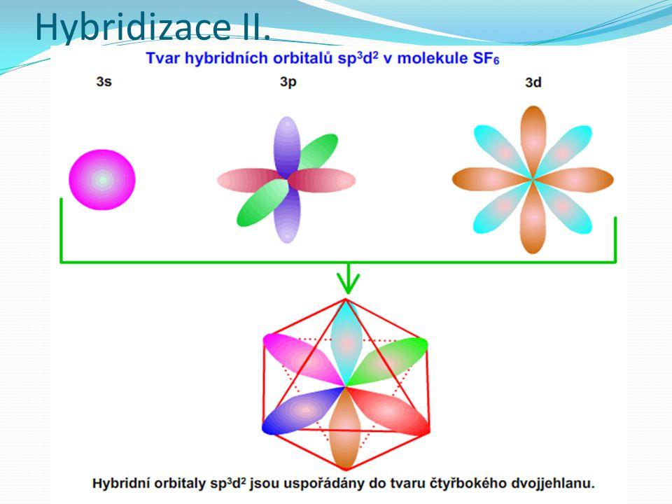 Hybridizace II.