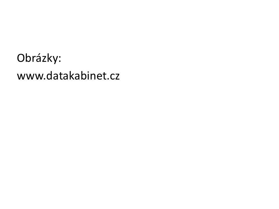 Obrázky: www.datakabinet.cz