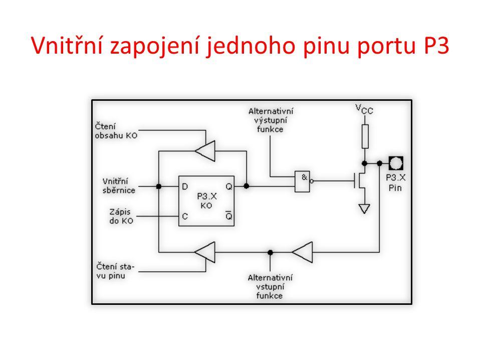 Program na vstup => čtení stisknutých tlačítek a zobrazení na LED