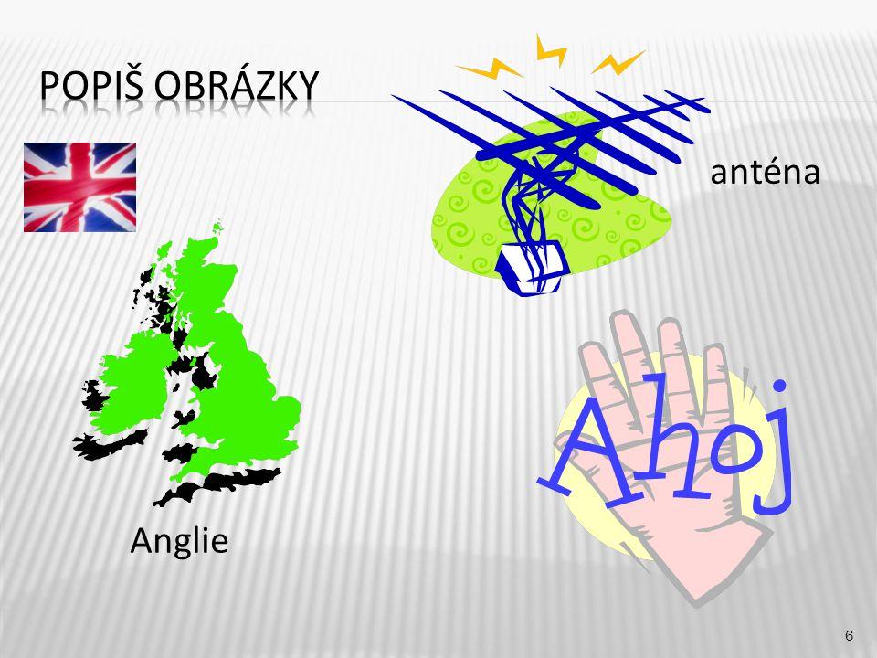 anténa 6 Anglie