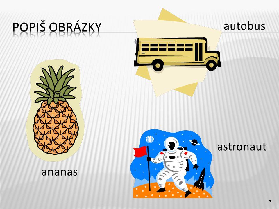 autobus 7 ananas astronaut