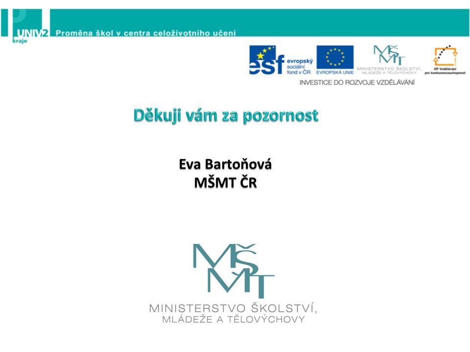 Eva Bartoňová MŠMT ČR