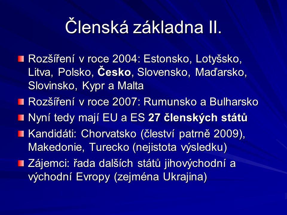 Členská základna II.