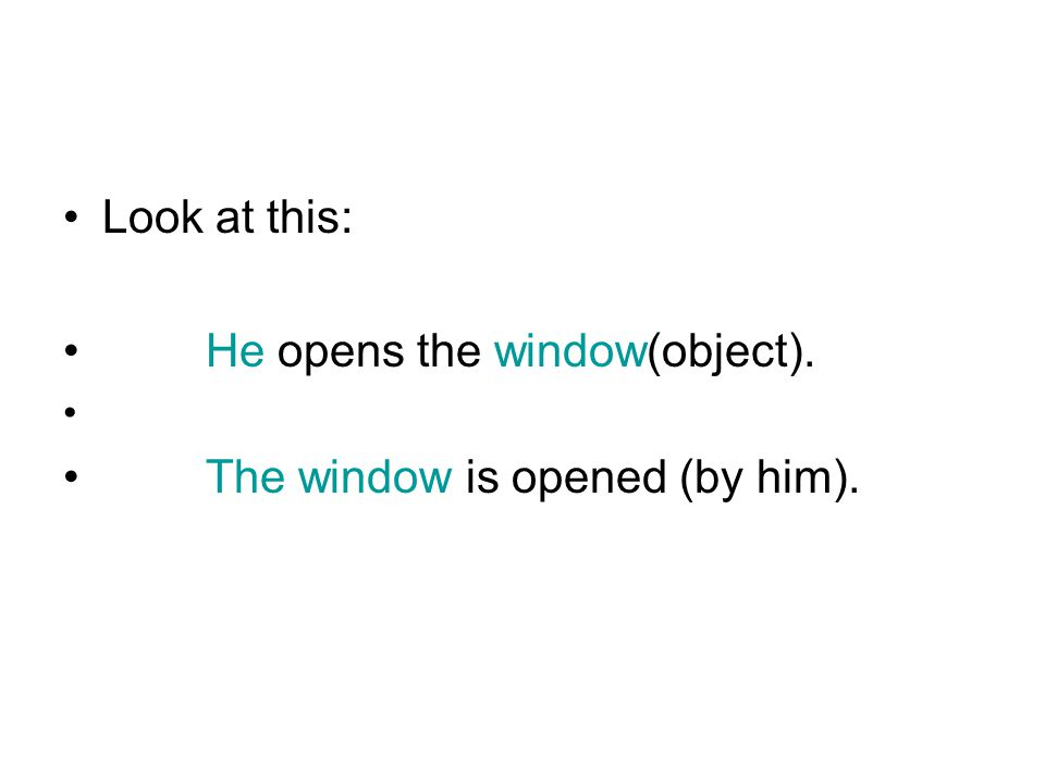 Verbs with 2 objects If we have 2 objects, the indirect object usually refers to a person and this comes often first.