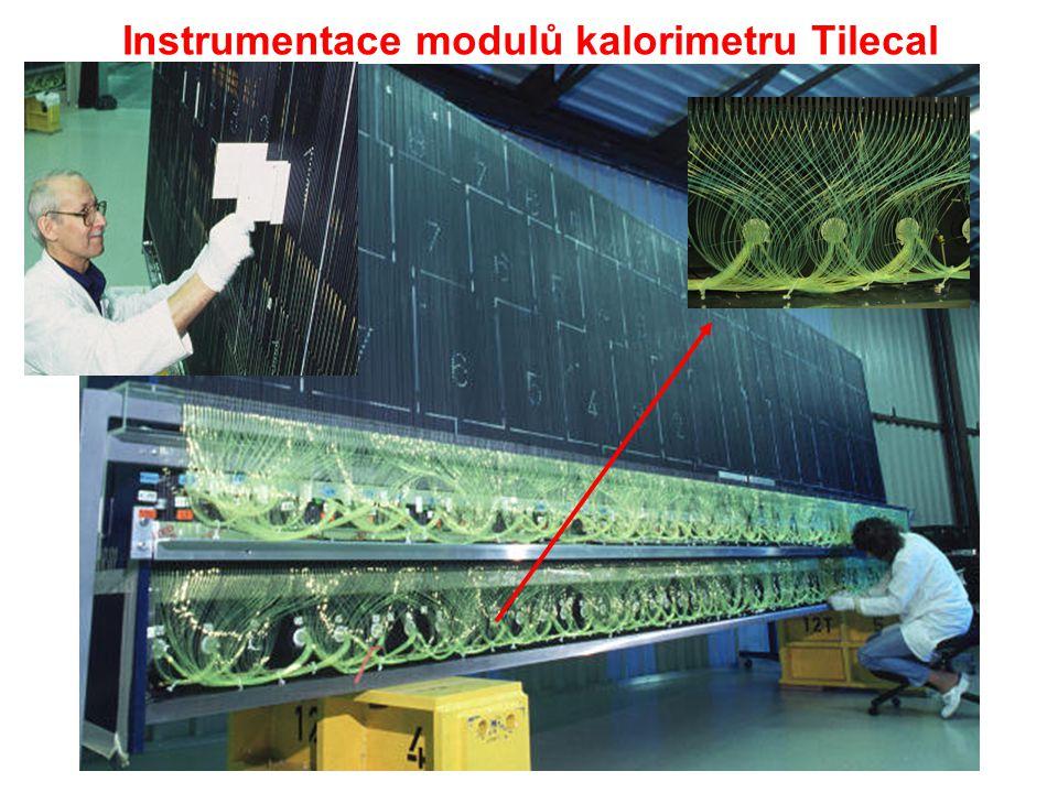 Instrumentace modulů kalorimetru Tilecal