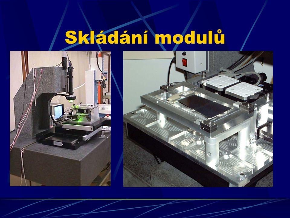 Skládání modulů