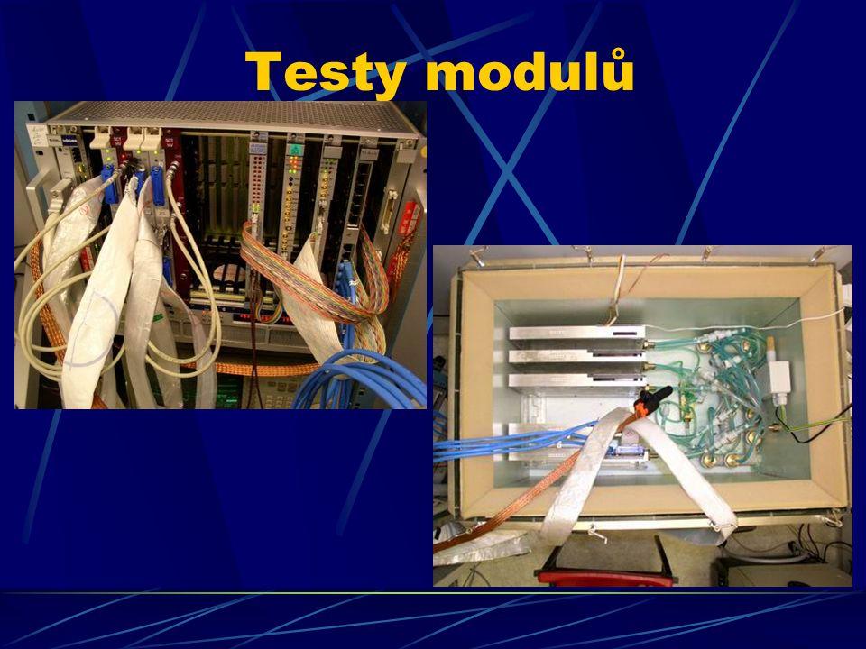 Testy modulů