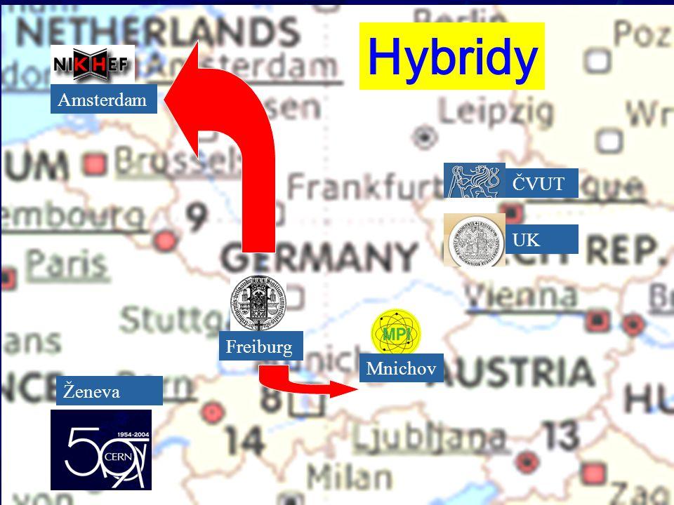 ČVUT UK Mnichov Freiburg Amsterdam Ženeva Hybridy