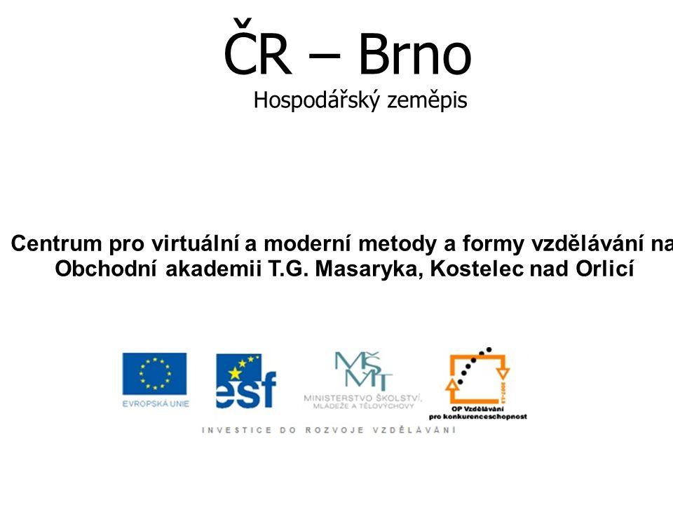 Město Brno Druhé největší město České republiky s téměř 370 000 obyvateli Leží v centrální části Evropy Je moravskou metropolí a výchozí turistickou destinací za poznáním přírodních a kulturních krás regionu jižní Morava.