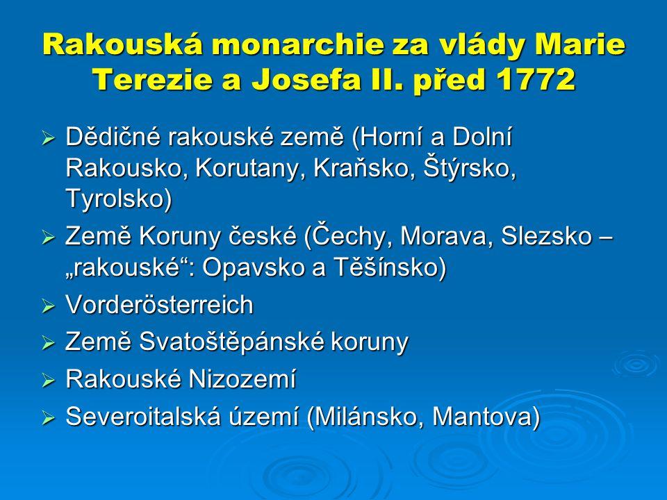 Rakouská monarchie za vlády Marie Terezie a Josefa II.